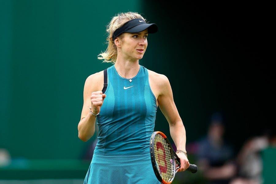 WTA Birmingham: Osaka si ritira, bene Svitolina