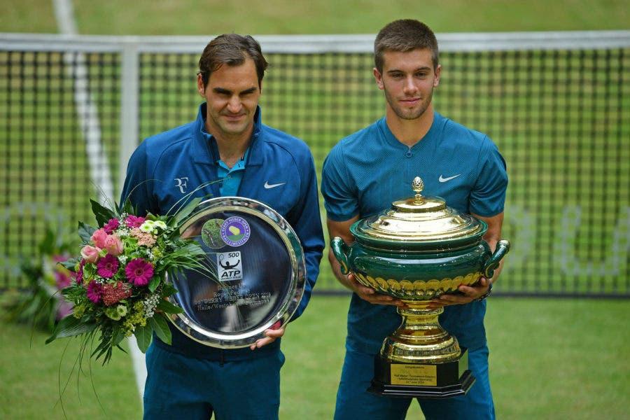 Federer, terzo tonfo in finale ad Halle. Djokovic, 15 col Vajda-bis