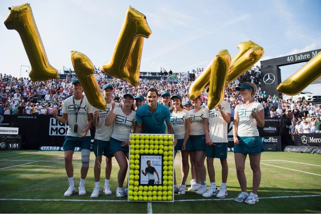 Federer, il numero uno cosmopolita che fa '30'