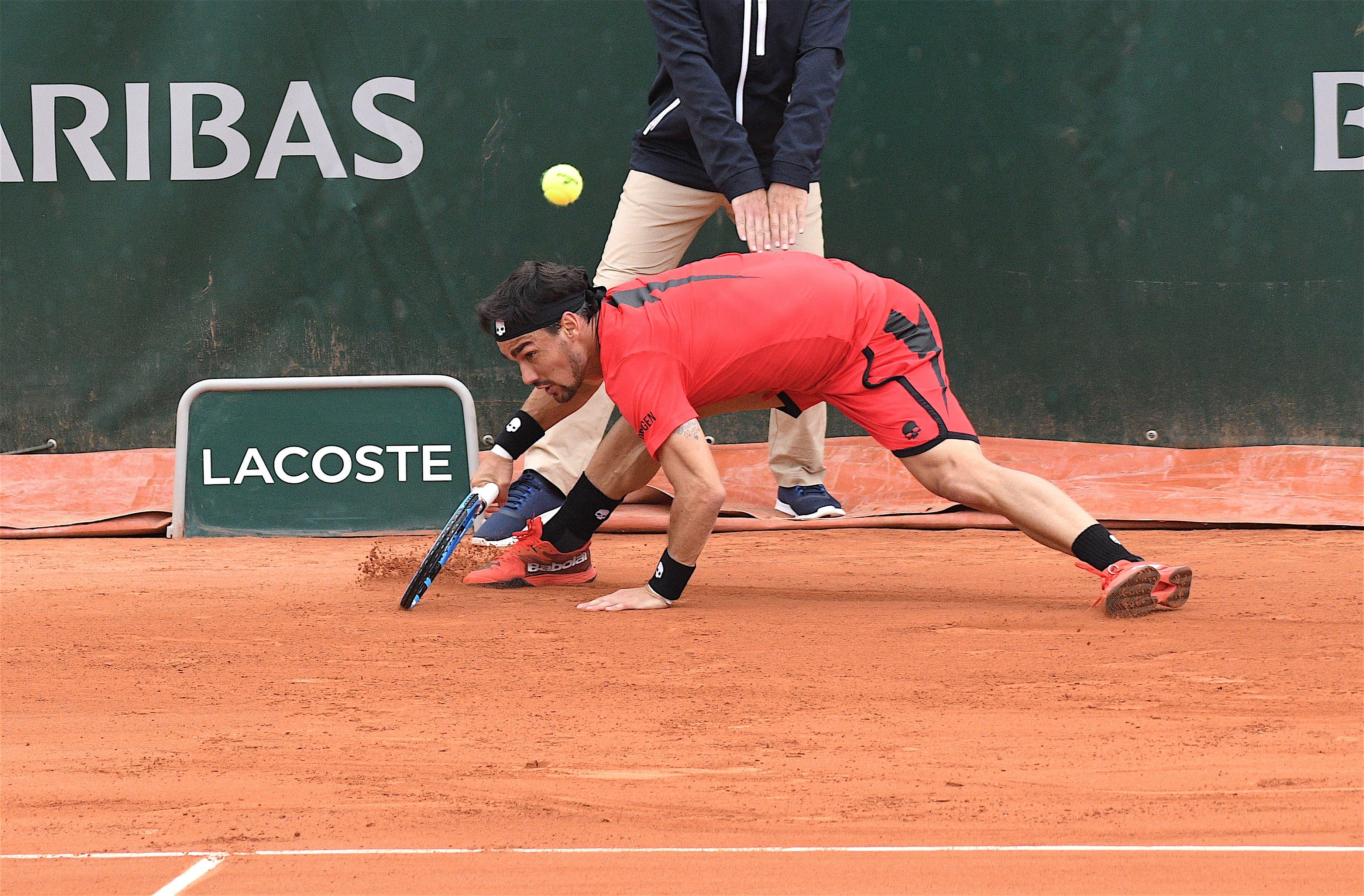 Fognini fallisce la rimonta: fuori agli ottavi del Roland Garros