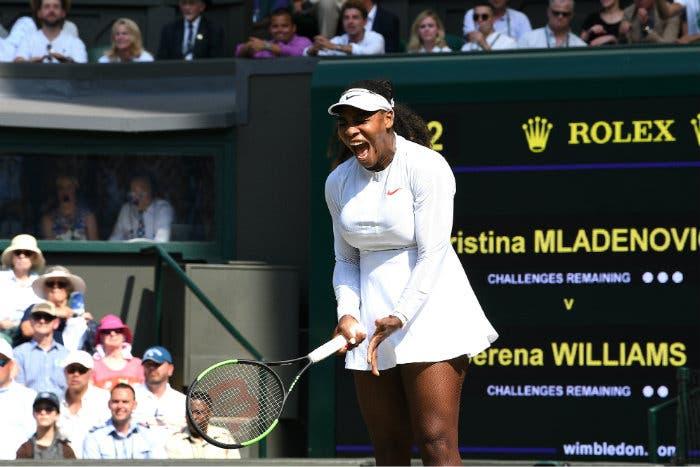 Serena è di un altro pianeta in tutti i sensi