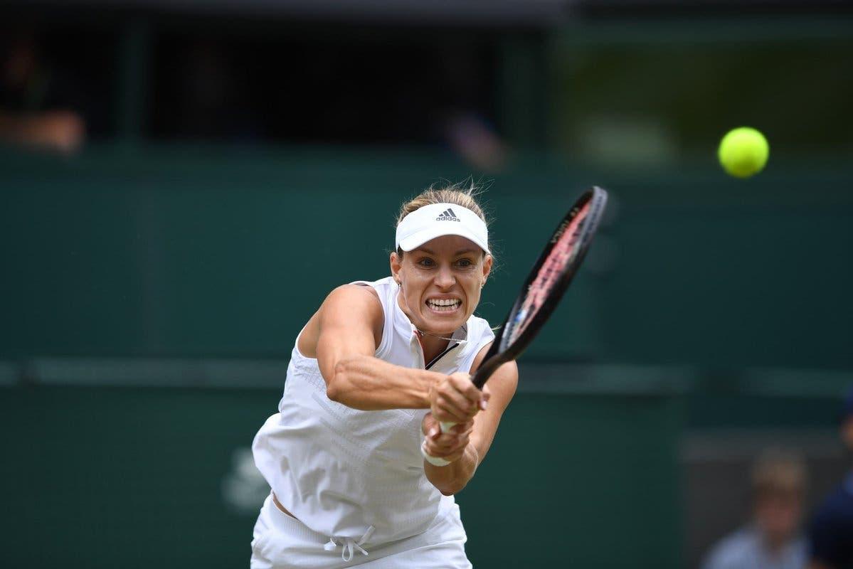 Scudo contro cannone: la prima semi a Wimbledon sarà Kerber-Ostapenko