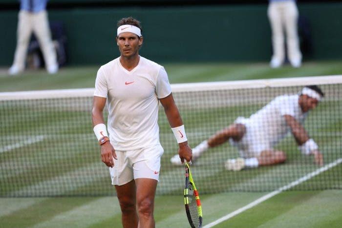 Wimbledon: Nadal vince la partita dell'anno, fuori uno splendido del Potro