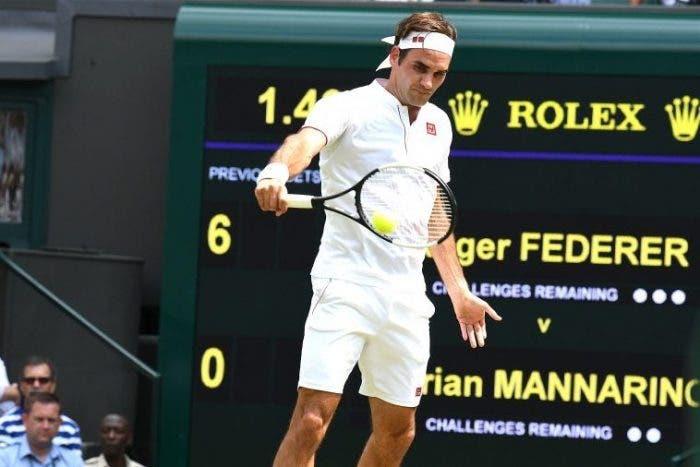 L'erba di Federer è sempre più verde: 16° quarto a Wimbledon