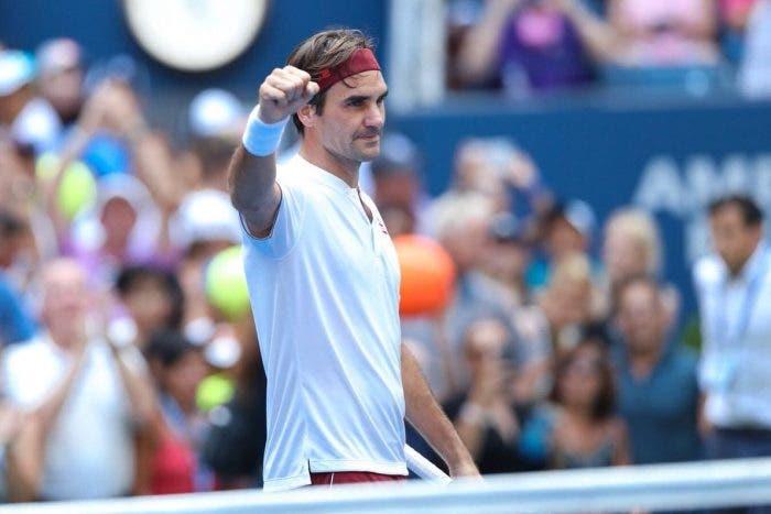 """US Open: parole, parole, parole. Federer: """"Bevanda fredda? Un bicchiere di champagne"""""""