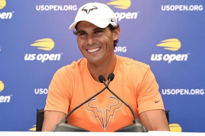 US Open: parole, parole, parole. A Nadal piace questo trofeo