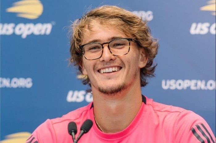 """US Open: parole, parole, parole. Zverev: """"Cosa è successo oggi? Ho perso!"""""""