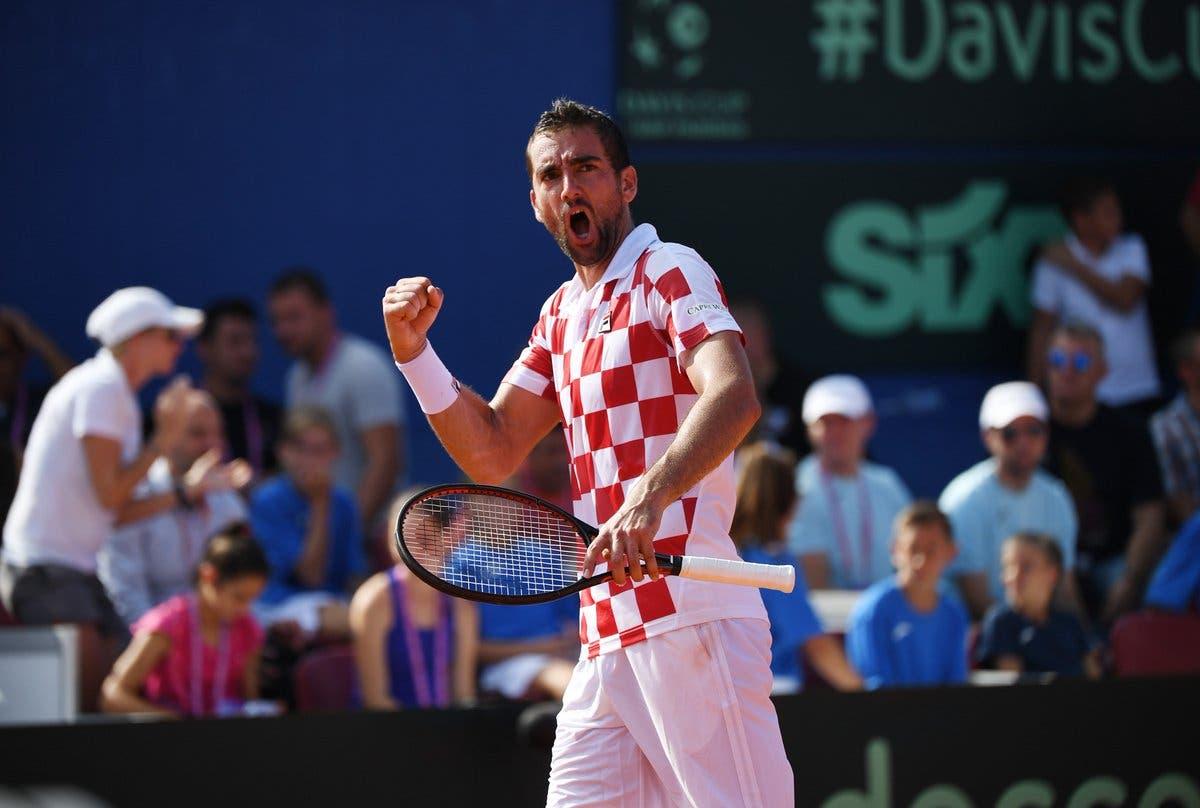 Coppa Davis, Croazia-USA 2-0: Coric e Cilic facile, Croazia sul velluto