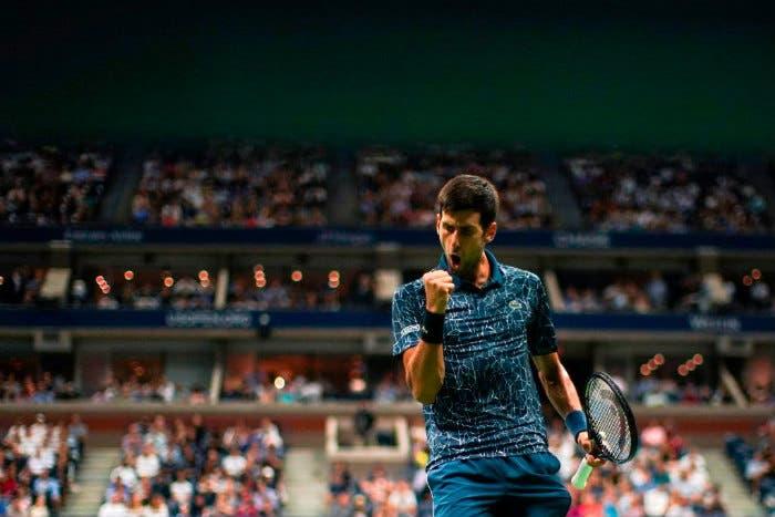 """US Open: parole, parole, parole. Djokovic: """"Il tennis non determina la mia felicità"""""""