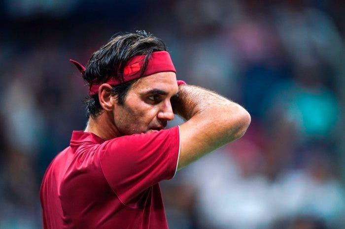 """I dolori del 'vecchio' Federer: """"Non riuscivo a respirare. Senza energia"""""""