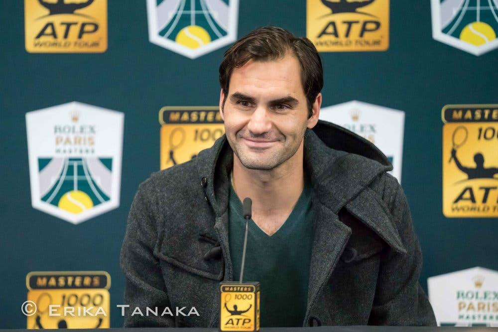 Federer si dà il via libera: giocherà a Bercy