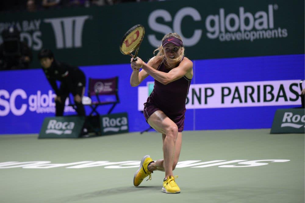 Svitolina mostra i muscoli, è in finale a Singapore