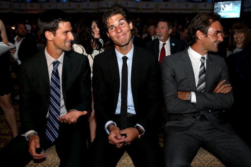 Il dominio decimale di Djokovic, Nadal e Federer