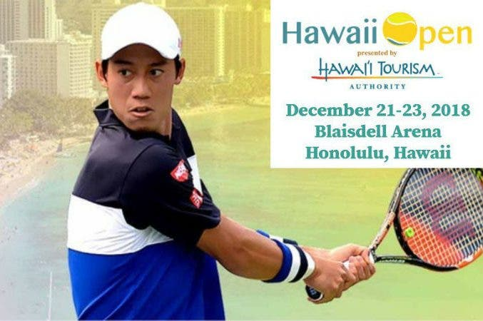 Natale alle Hawaii: si gira con Nishikori, Raonic e Muguruza
