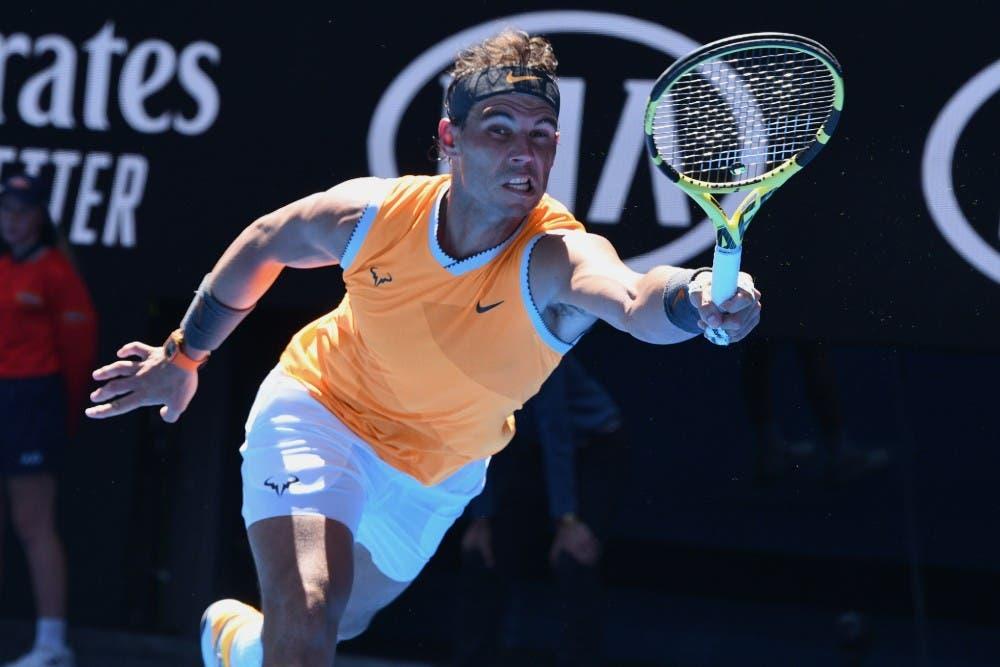 Rafa Nadal – Australian Open 2019 (foto Roberto Dell'Olivo)