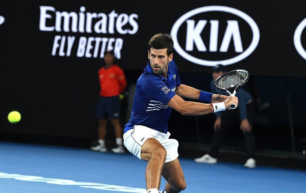 Novak Djokovic – Australian Open 2019 (foto di Roberto Dell'Olivo)