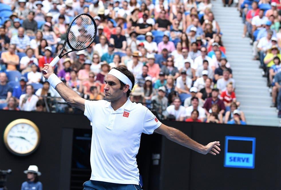 Roger Federer – Australian Open 2019 (foto di Roberto Dell'Olivo)