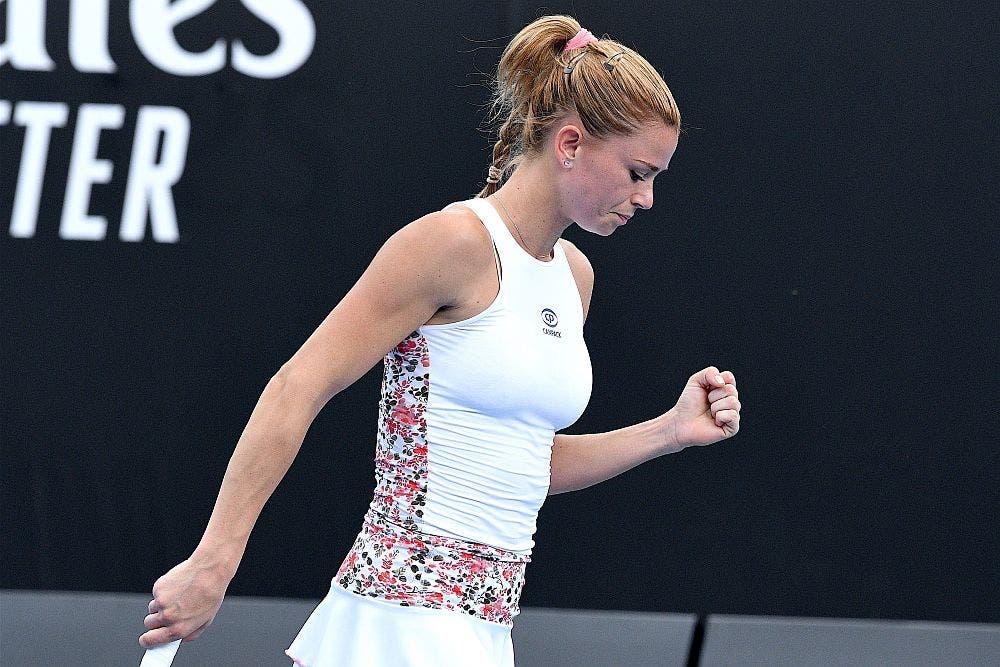 Camila Giorgi – Australian Open 2019 (foto di Roberto Dell'Olivo)
