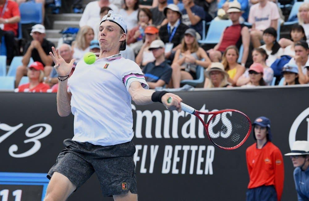 Denis Shapovalov – Australian Open 2019 (foto di Roberto Dell'Olivo)