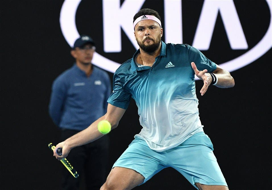 Jo-Wilfried Tsonga – Australian Open 2019 (foto di Roberto Dell'Olivo)
