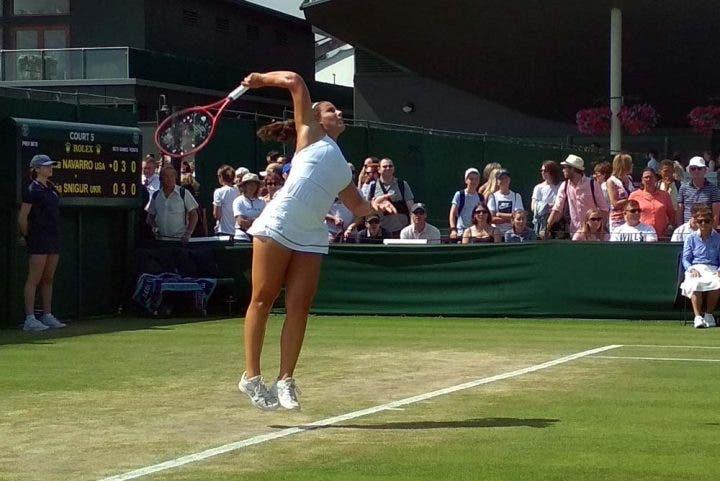 Emma Navarro - Wimbledon junior 2019
