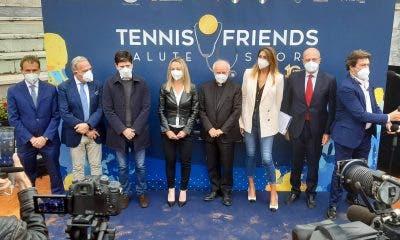 Foto fornita gentilmente dall'ufficio stampa di Tennis and Friends